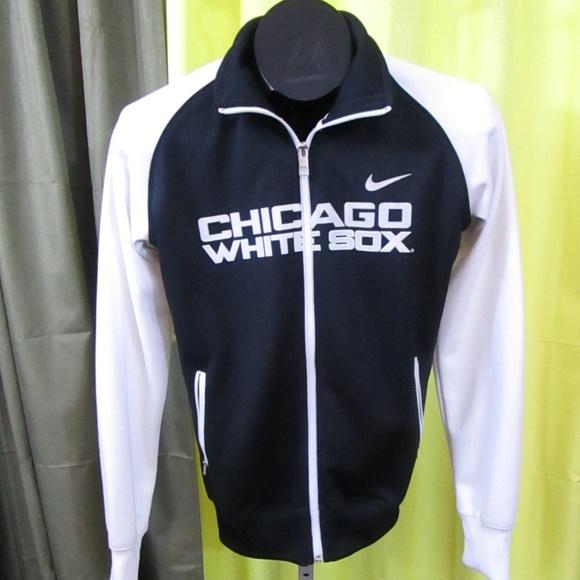 Nike Chicago White Sox Track Zip up Jacket